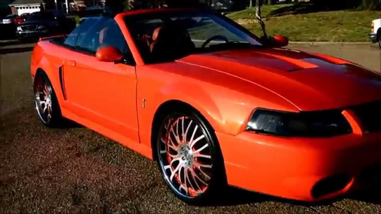 Mustang Cobra Convertible Gt Dropped On Staggered Youtube