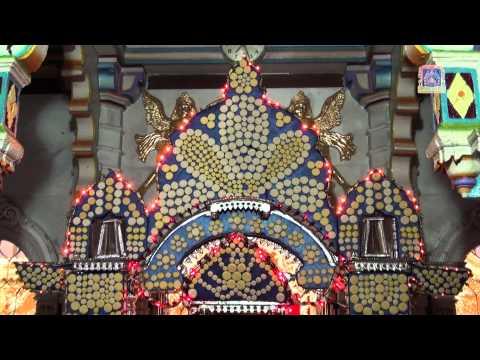 Hindola 2012 dry fruit shree swaminarayan mandir mumbai for Annakut decoration ideas