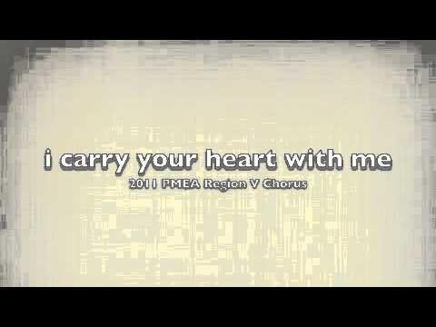 2011 PMEA Region V Chorus - i carry your heart with me