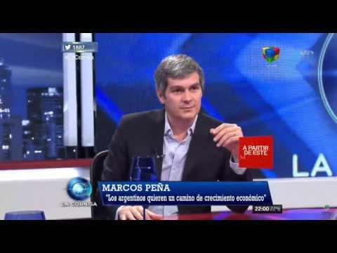 """Marcos Peña: """"No es devaluación, es unificación cambiaria"""""""