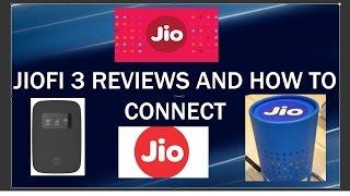 How to connect Jiofi 3 and Jiofi3 Reviews