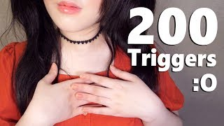 ASMR How to Sleep with 200 Triggers Sound 🌟