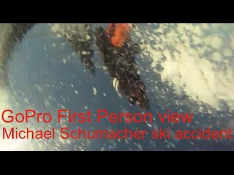 Hd Gopro Michael Schumacher Ski Accident First Person View
