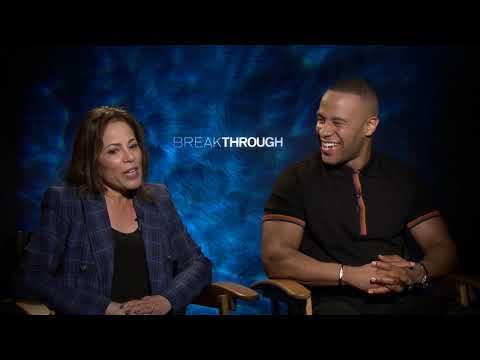 DeVon Franklin & Roxann Dawson Interview: Breakthrough