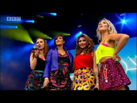 The Saturdays - What About Us (Live @ BBC Radio 1's Big Weekend, 2013)