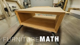 Making Non-90 Degree Miter Joints - How to calculate and cut them - Furniture Math