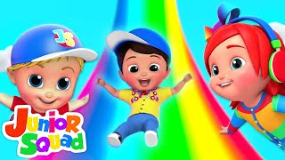Swing Song | Nursery Rhymes Songs For Kids | Cartoons For Children By Junior Squad