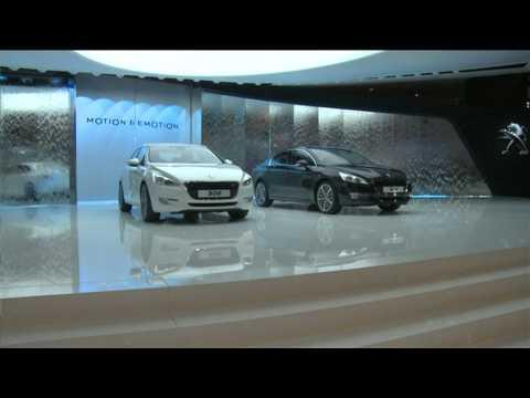 Peugeot al Salone di Parigi 2010