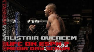 Alistair Overeem speaks to his longevity in the fight game  (UFC on ESPN 7 Media Day)
