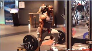 Ulisses Jr HARDCORE Leg day workout best motivation! - [HD Video]   don't skip