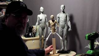 Sculpting Tutorial - Anatomical Correct Female and Male Reference Figures
