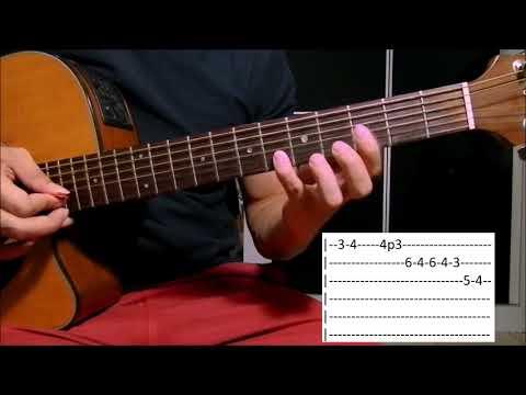 Acorrentado em Você - Bruno e Marrone Aula Solo Violão (como tocar)