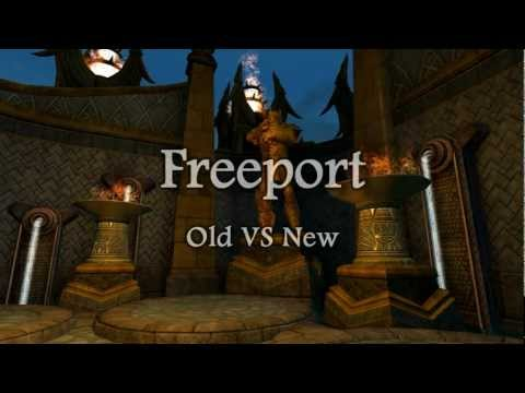 EverQuest II - Freeport - Old VS New