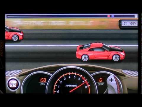 Drag Racing 9.011 Tune Nissan GTR35 LVL 6 1/4