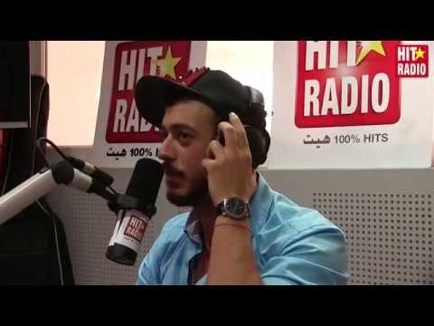 Saad Lamjarred dans le Morning de Momo sur HIT RADIO - Partie 2 - 13/05/15