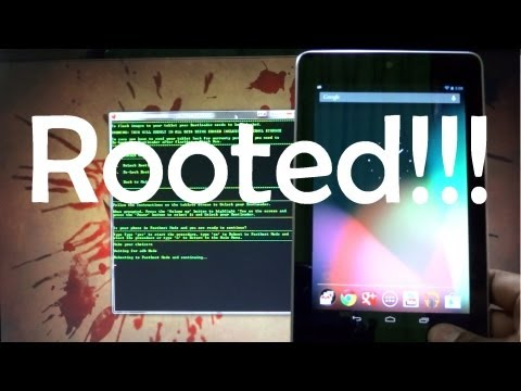 How to Root Nexus 7 - Safe and Simple - Cursed4Eva.com