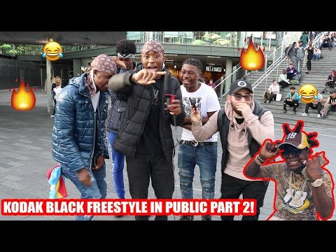 Kodak Black - Zeze Public Freestyle! (PART 2)