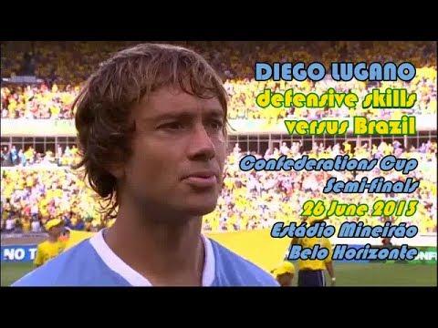Diego Lugano ● defensive skills vs Brazil 26 June 2013
