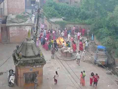 Festival Ghanta Karna - Bode, Nepal video