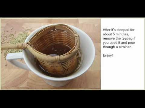 How to Make Fennel Tea - A Healthy Drink Made With Crushed Fennel Seeds
