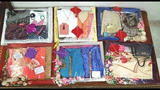 Beautiful Gift Packing Ideas for Wedding Trousseau, Saree, Dress, Shirt and more..