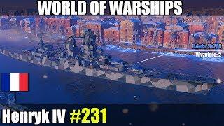 Henryk IV - World of Warships gameplay i prezentacja okrętu.