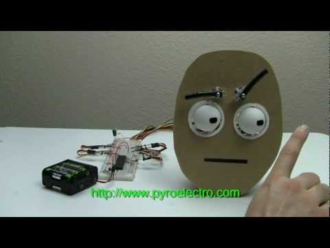 Animatronic Eyes Using Servos