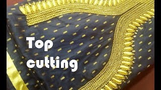 Churidar TOP cutting and stitching, Rs 700  Rupees Punjabi DRESS MATERIAL easy method