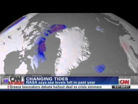 Ocean Levels Falling, Global Warming Hoax?