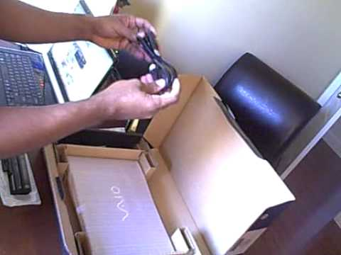 Sony Vaio Y Series Unboxing Video