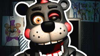 FNAF 6 PIZZERIA SIMULATOR - NEW FREDDY FAZBEAR ANIMATRONIC JUMPSCARE! ► Fandroid the Musical Robot!