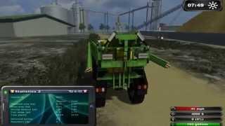 farming simulator 2011, glenvar, claas