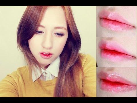 Korean lip makeup tutorial
