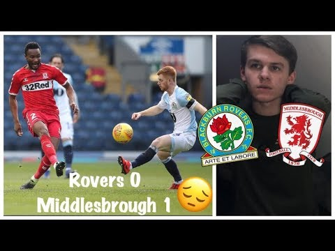 JOHN OBI MIKEL RAN THE SHOW!! Blackburn Rovers 0-1 Middlesbrough