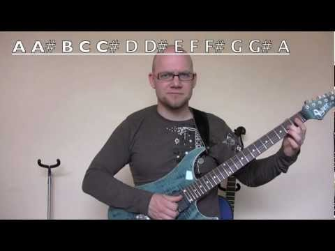 Electric Guitar Lesson For Total Beginners - Vigier Excalibur Ultra - Learn Electric Guitar