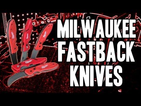 Milwaukee Fastback Knives