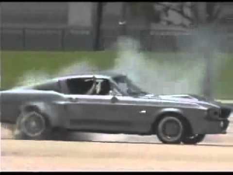 Ford Mustang Shelby 1967 Gt500 Super Snake Burnout Drift