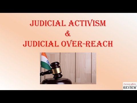 Current Affairs Review (Sample Video): Judicial Activism