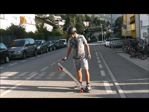 Longboard Trick Tip 360 pressure flip - By Julian