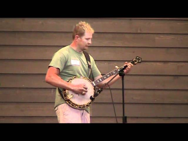 Cherokee Shuffle, Stevie Barr, 8th Place Galax Banjo 8-10-2011.mpg