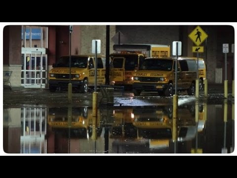 Rain / Flood Cortland New York 08-08/09-2013