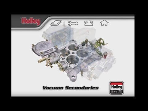 How To Adjust Holley Carburetor Vacuum Secondary Springs