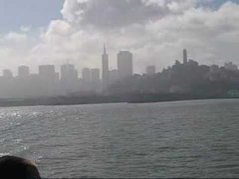 San Francisco: View of San Francisco Bay from ferry
