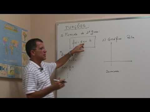 Função do 1º grau - Parte 1 - Gráfico | Vídeo Aulas de Física Online Grátis
