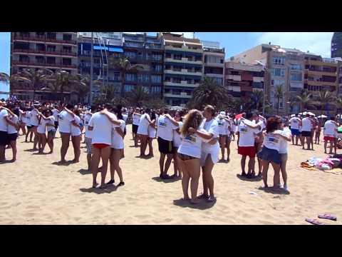 Flash Mob Kizomba Canarias - Las Canteras 28J