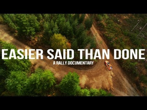 Easier Said Than Done - A Rally Documentary - Official Trailer