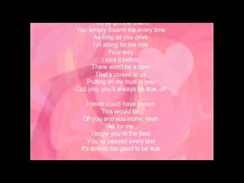 Love You I Do from Dreamgirls (sung by Jennifer Hudson) Lyric Video