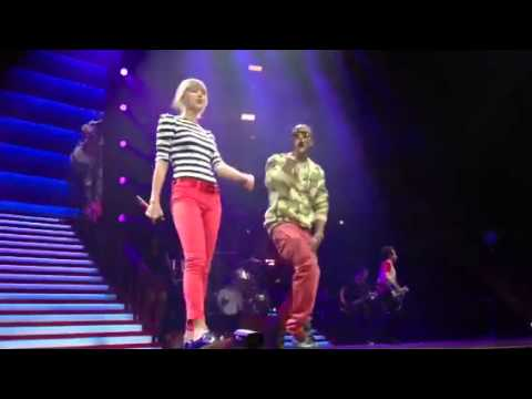 Taylor Swift And B.o.b both Of Us- Atlanta Phillips Arena video
