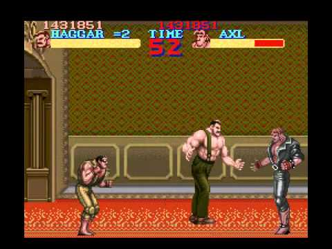 Final Fight - Playthrough - User video