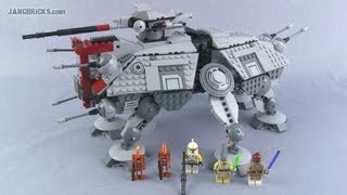 LEGO Star Wars 2013 AT-TE set 75019 review!
